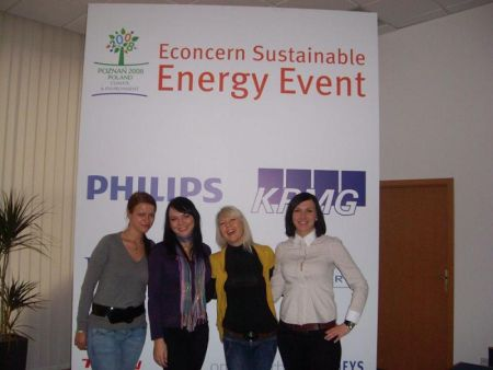 Econcern Sustainable Energy Event – COP 14 Parallel Event Poznan, Poland